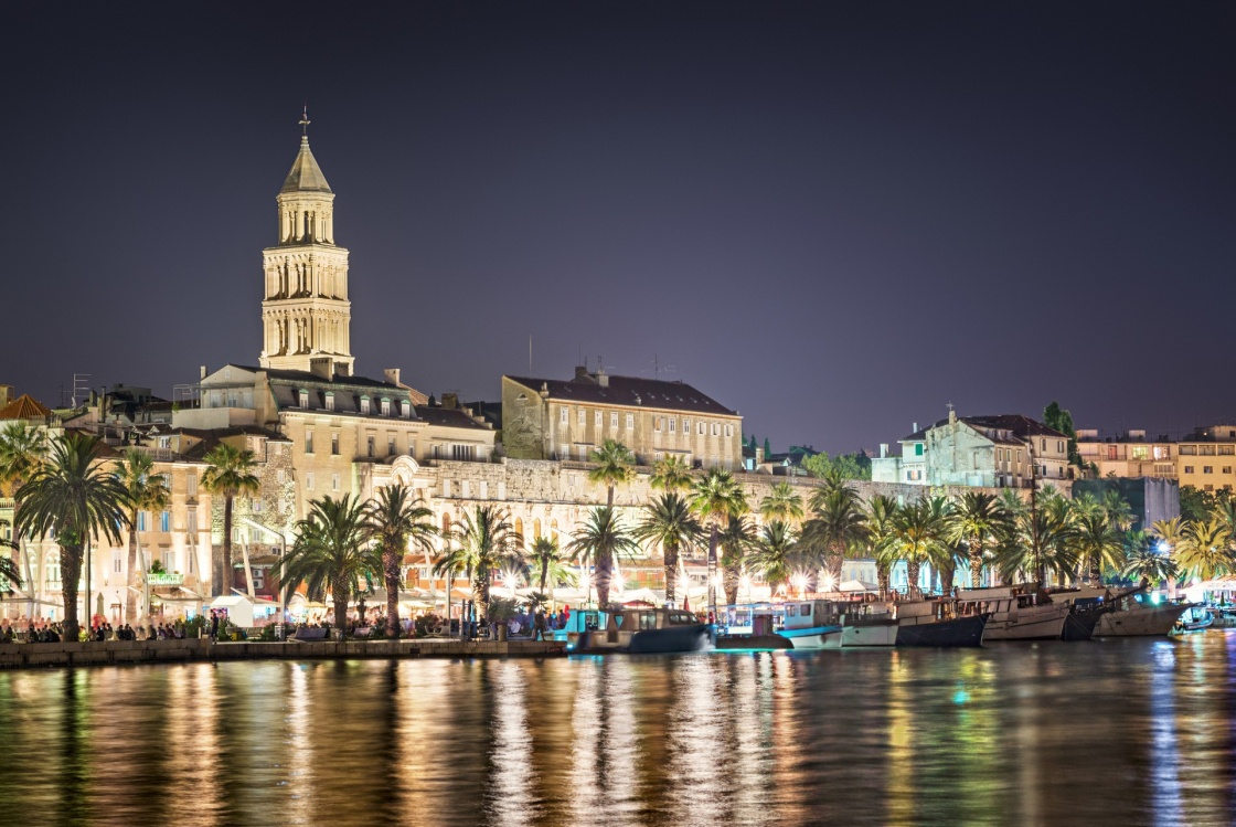 'Split at night, Croatia' - Split