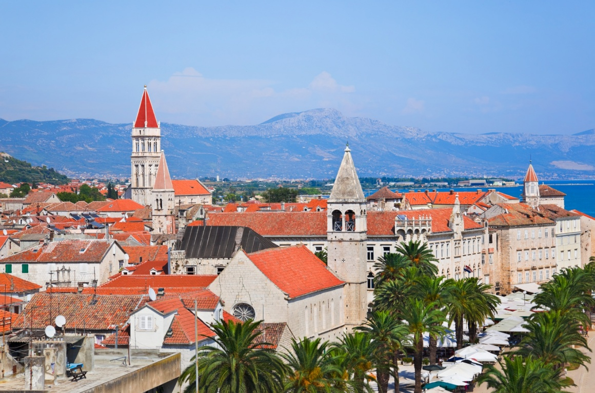 'Town Trogir in Croatia - architecture background' - Split